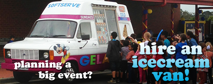 book an icecream van for your next event